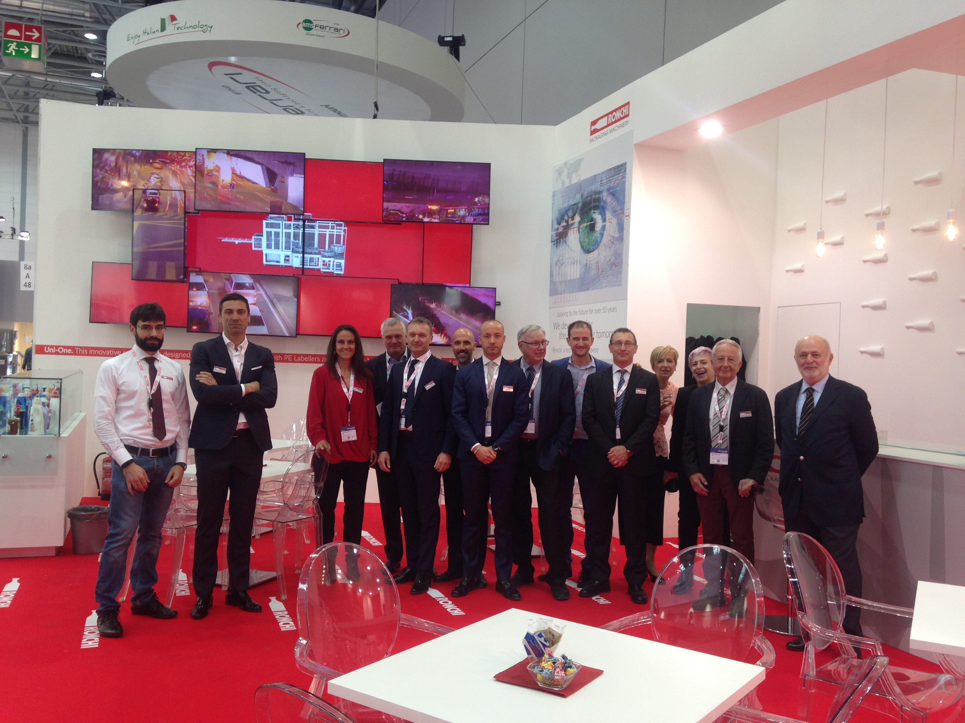 Ronchi family Interpack Dusseldorf